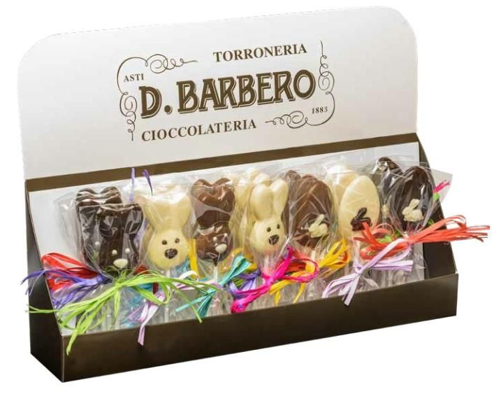 D Barbero Chocolate Bunny Lollipop