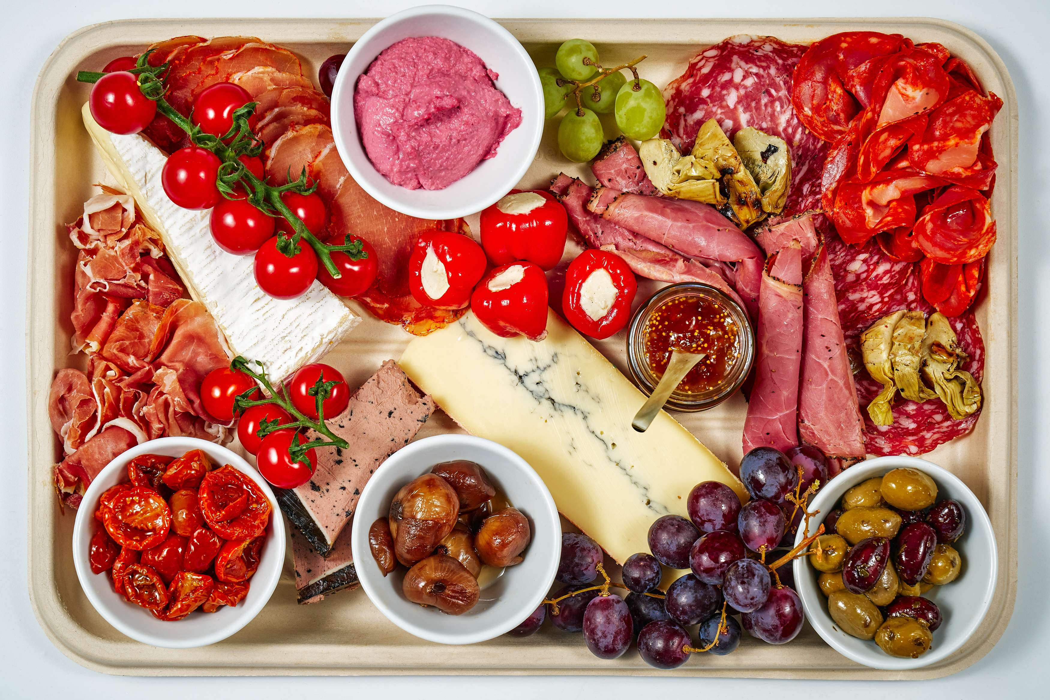 Charcuterie Cheese & Antipasti Platter (Large)