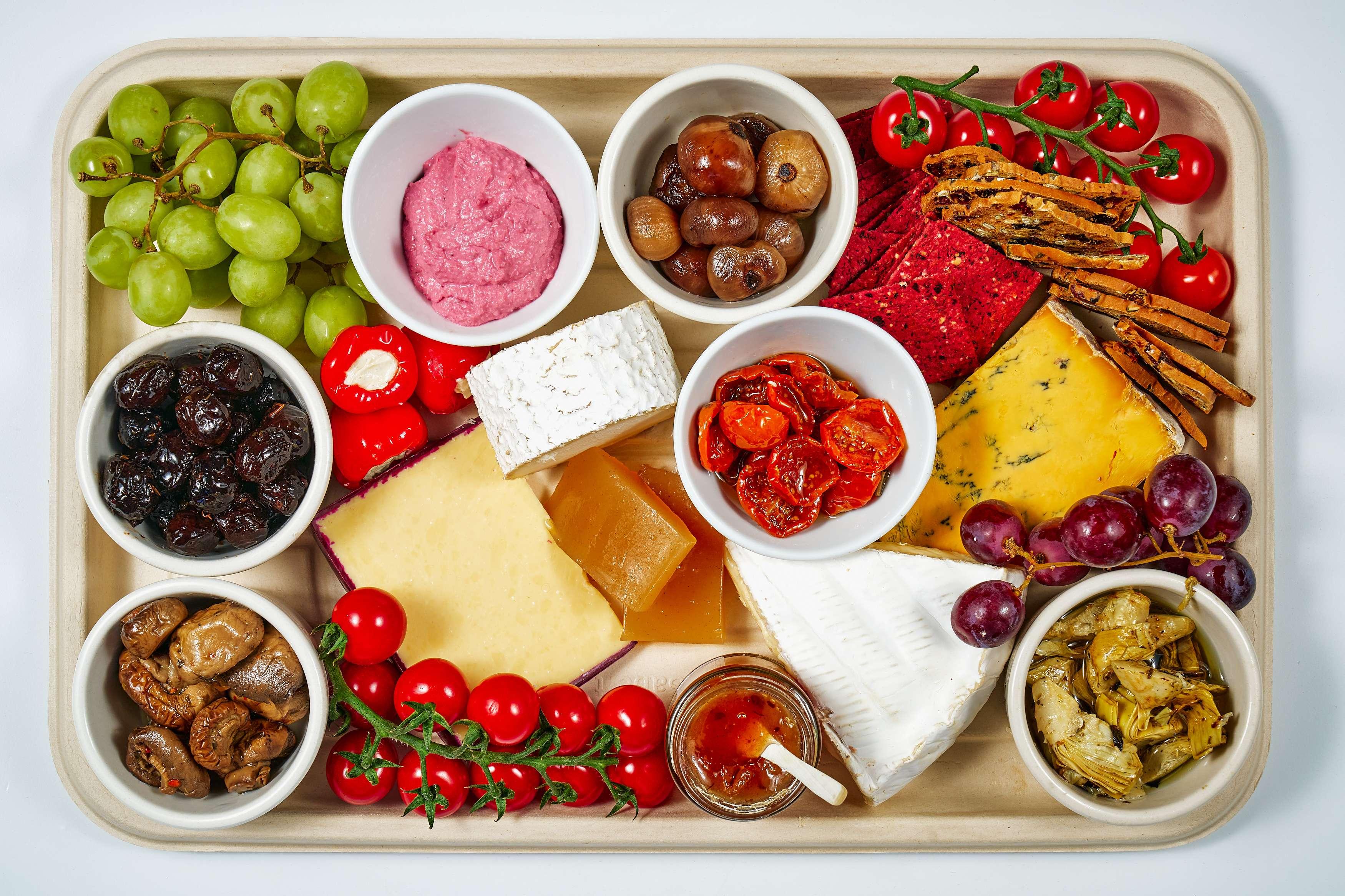 Vegetarian Cheese & Antipasti Platter
