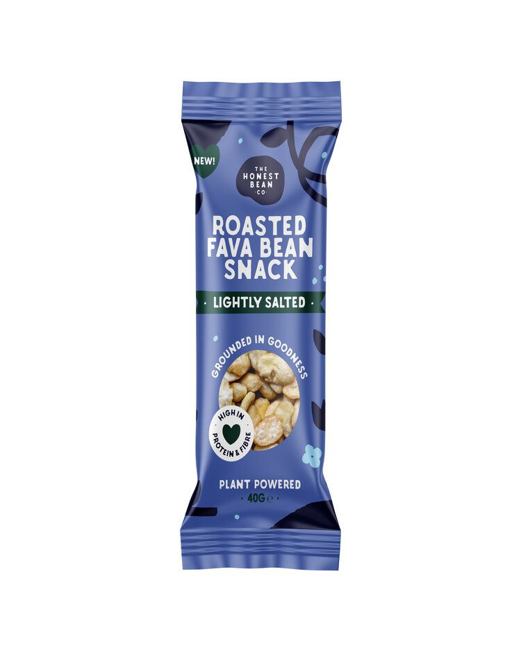Honest Bean Roasted Fava Bean Snack