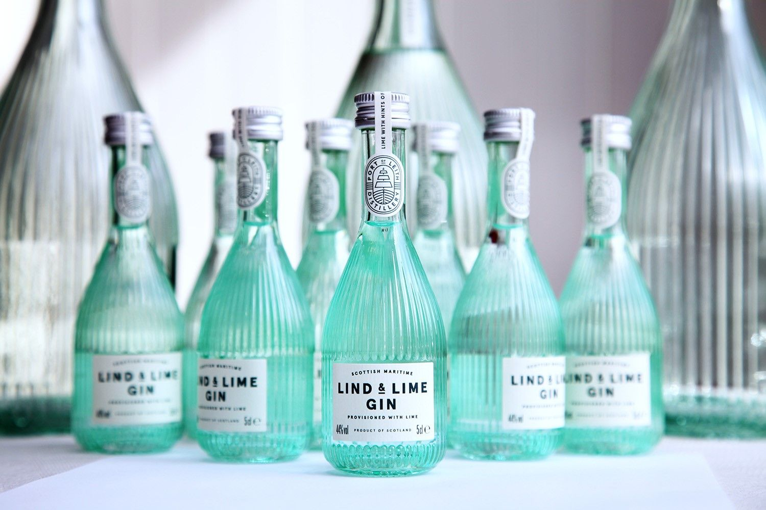 Lind & Lime Gin Miniature