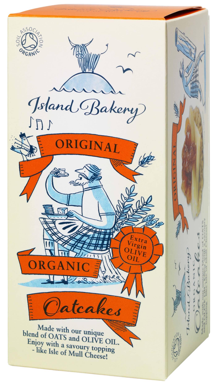 Island Bakery Original Organic Oatcakes