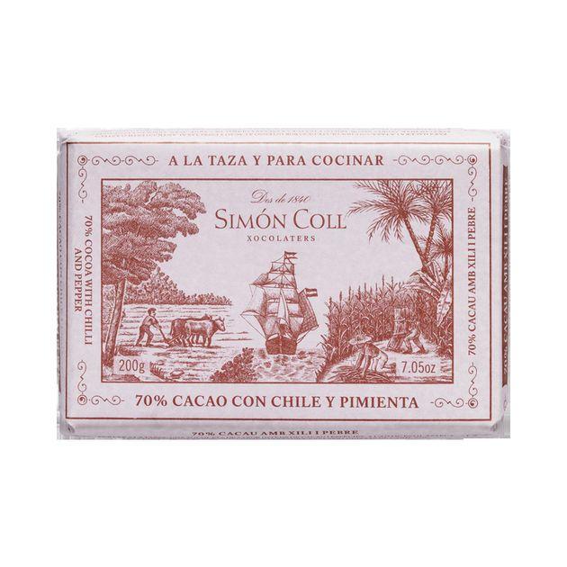 Simon Coll Chocolate a la Taza Chilli
