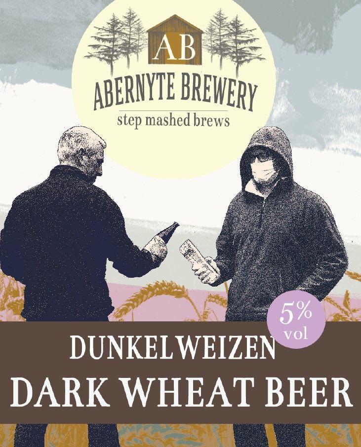 Abernyte Dunkelweizen Dark Wheat Beer