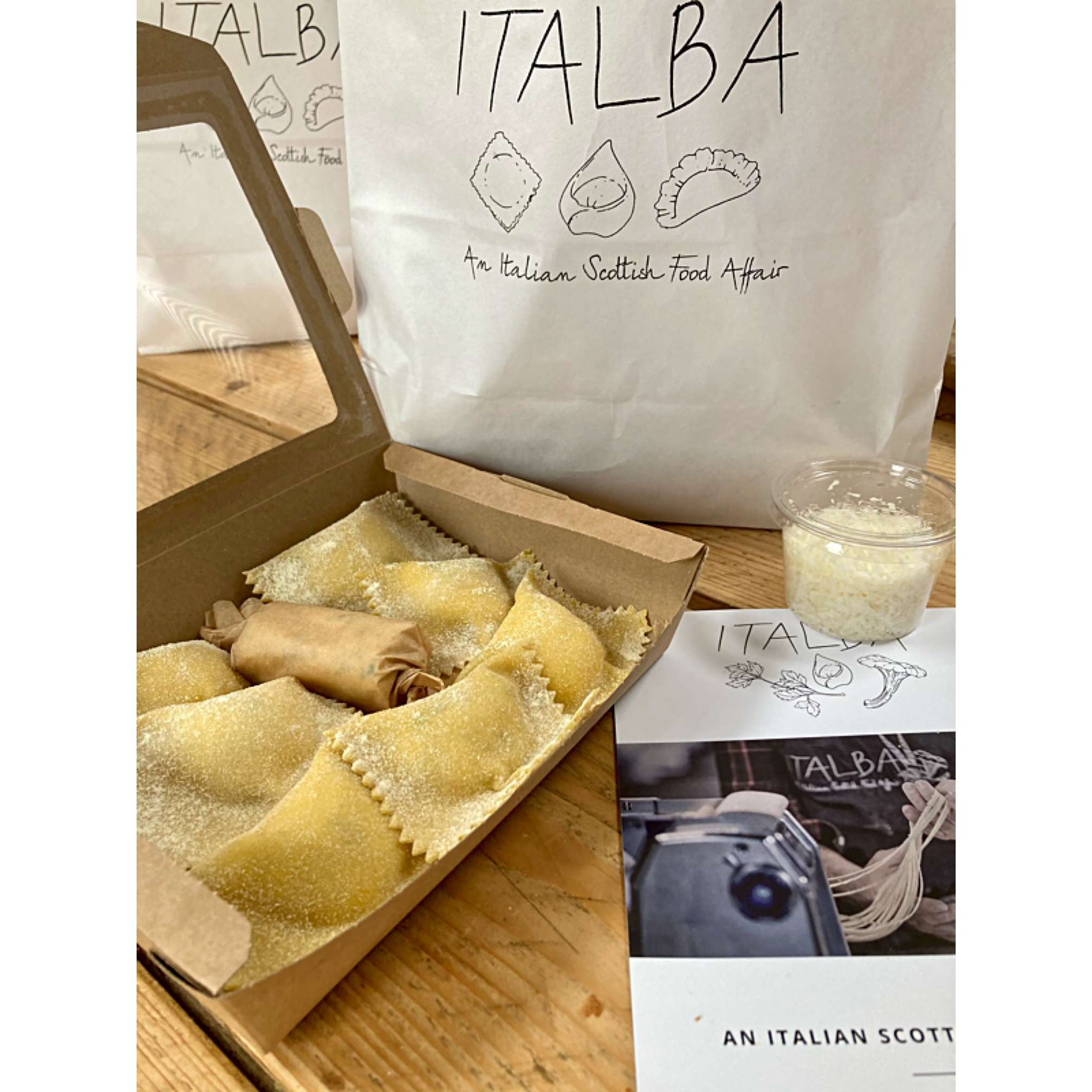 Italba Stuffed Pansotti