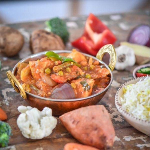 Praveen Kumar Vegetable Jalfrezi Ready Meals Soups Pu