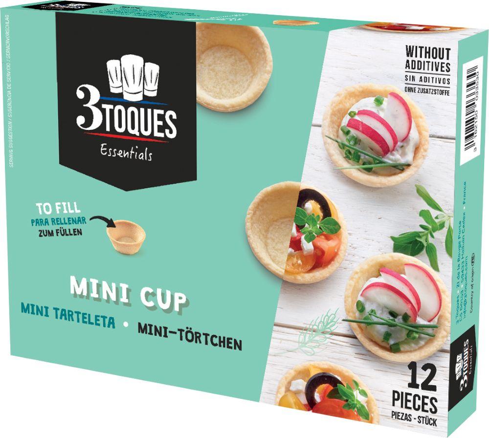 3 Toques Mini Pastry Cases