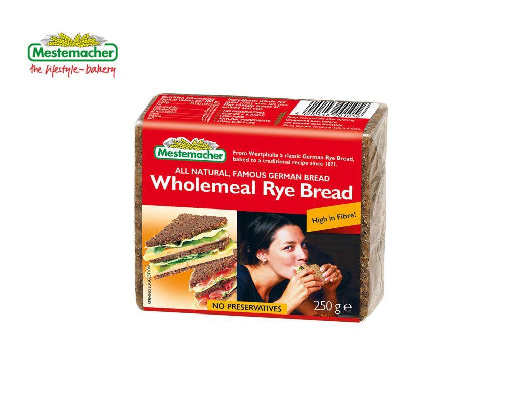 Mestemacher Wholemeal Rye Bread