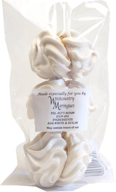 West Country Small Meringues
