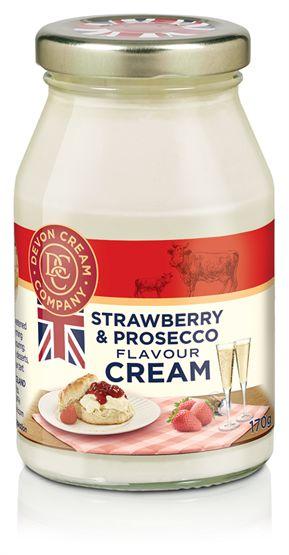 Devon Strawberry & Prosecco Cream