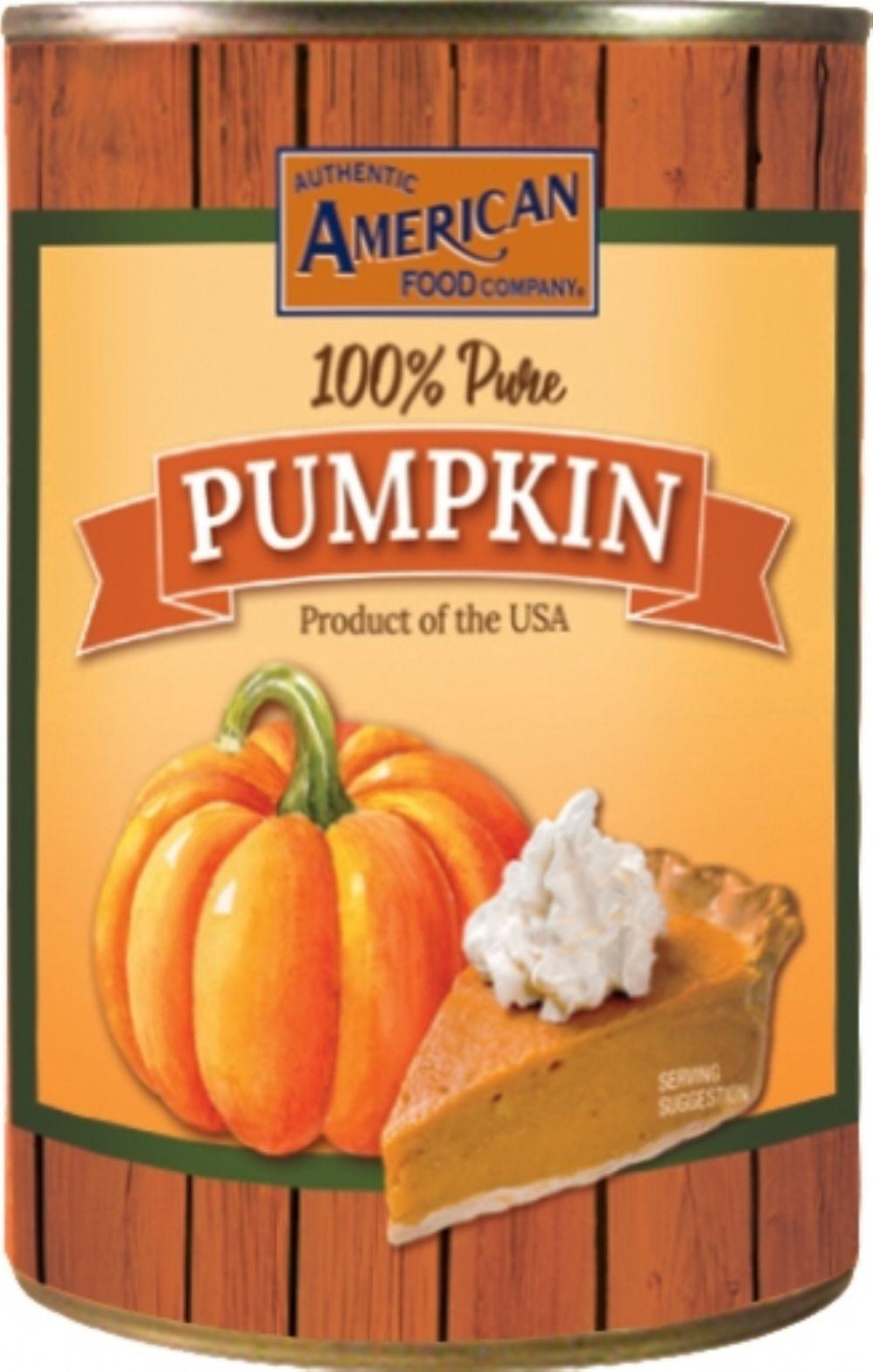 Authentic American Pumpkin