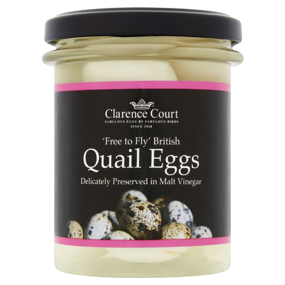 Clarence Court Pickled Quail Eggs