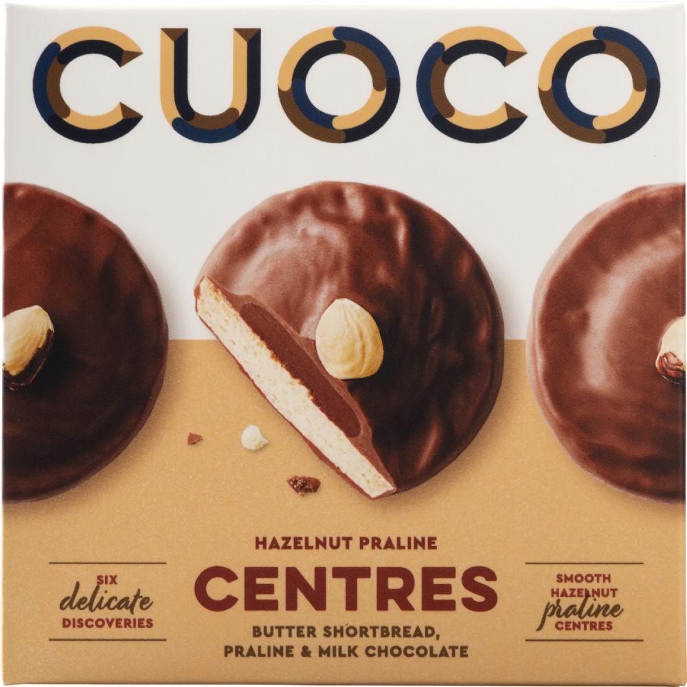 Cuoco Milk Choc & Praline Centre Biscuit