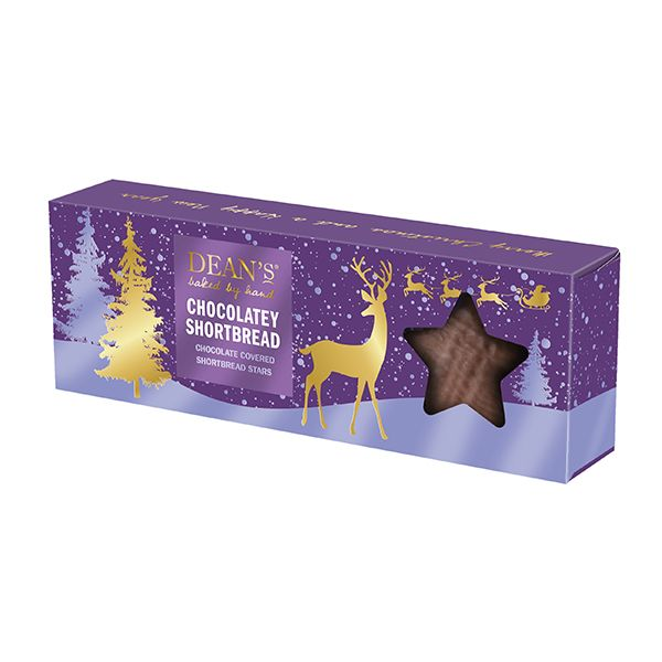 Deans Chocolatey Shortbread Stars