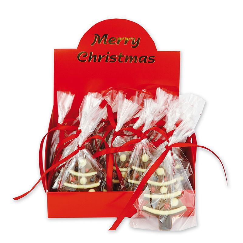 Milk Chocolate Christmas Tree Decoration