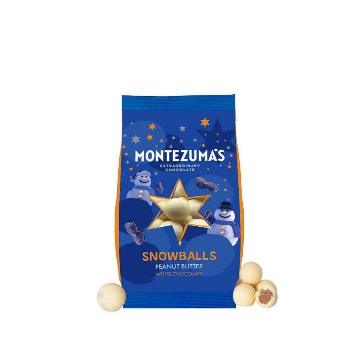 Montezuma's Peanut Butter Snowballs