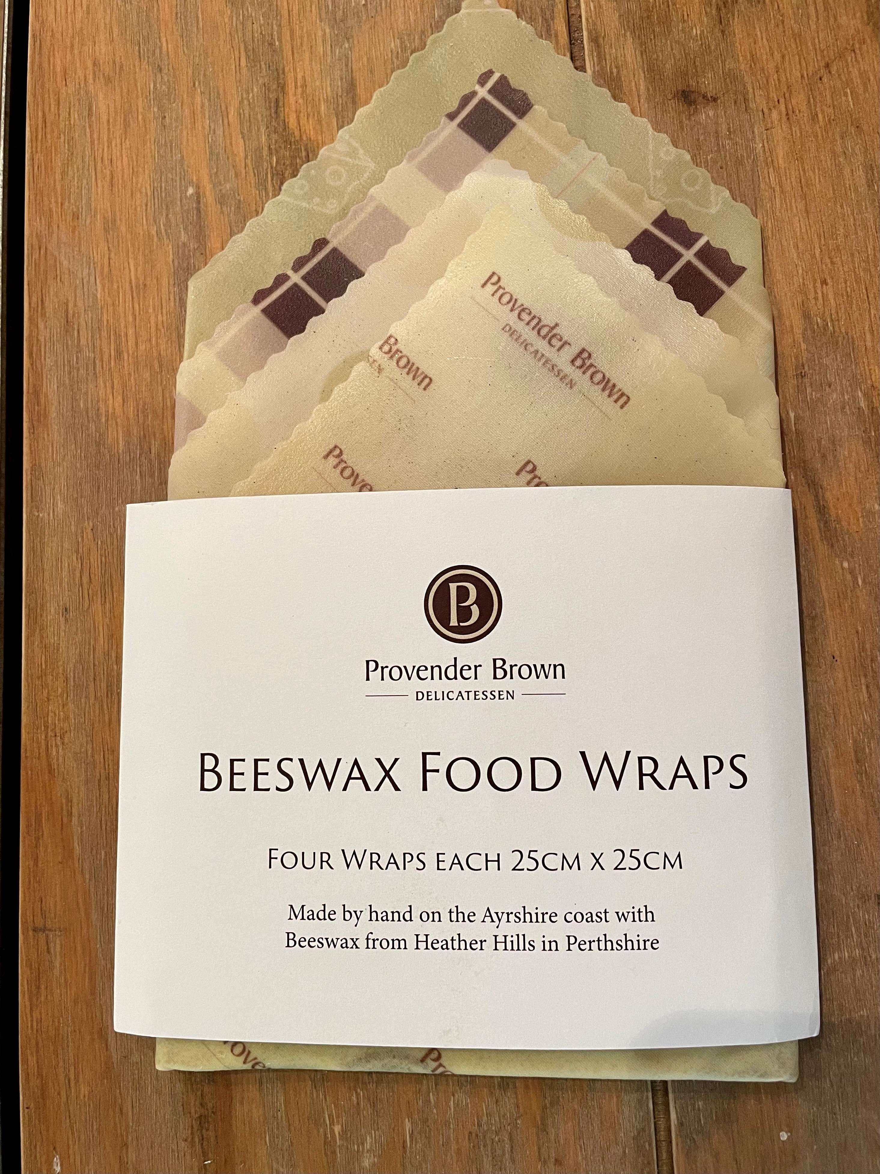 Provender Brown Beeswax Wraps