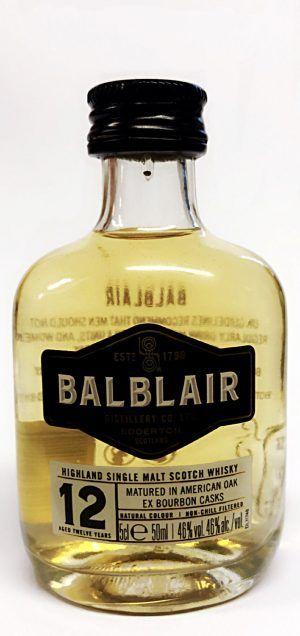 Balbair 12yo Malt Miniature