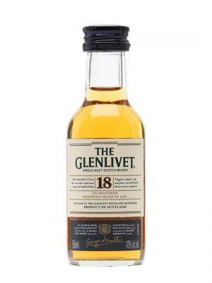 Glenlivet 18yo Malt Miniature