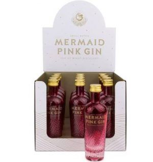 Mermaid Pink Gin Miniature