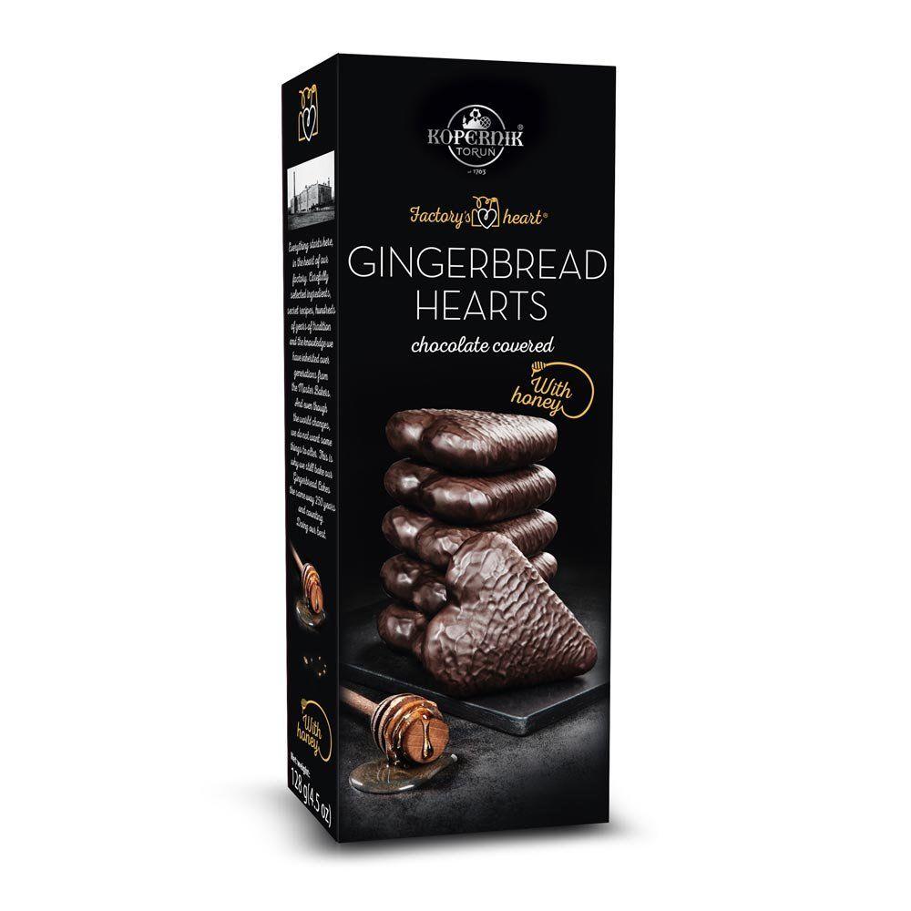 Kopernik Choc Covered Gingerbread Hearts