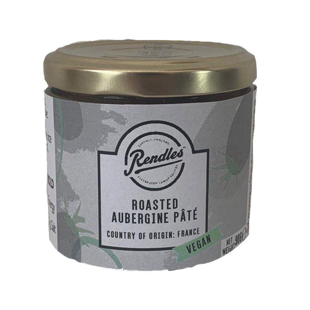 Rendles Roasted Aubergine Vegan Pate