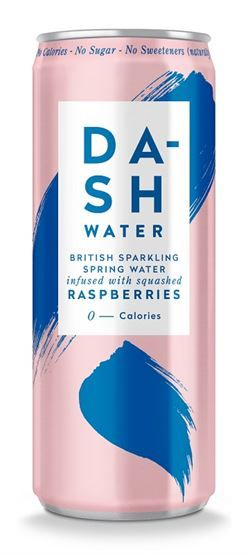 Dash Water Infused with Raspberries