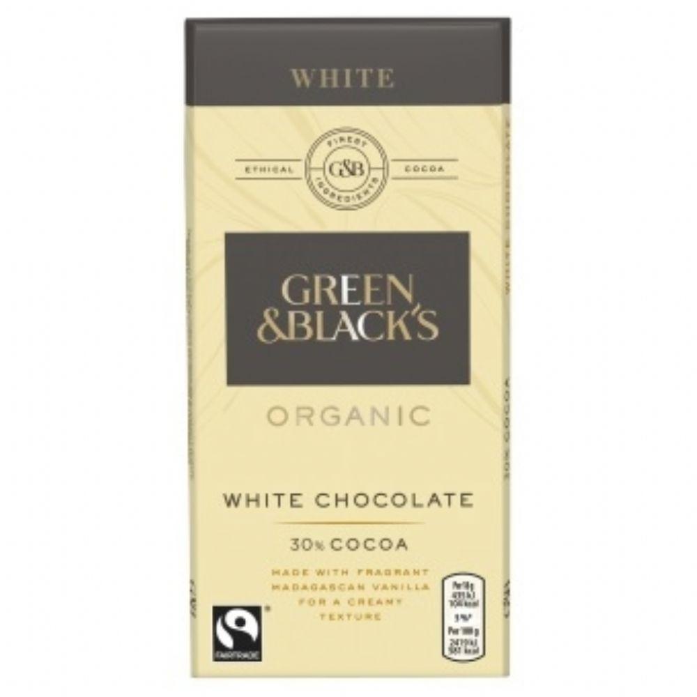 Green & Blacks White Chocolate