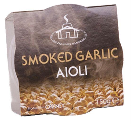 Island Smokery Smoked Garlic Aioli Antipasti & Olives