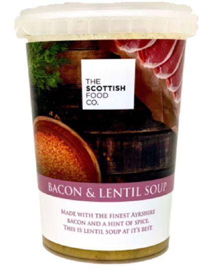 Scottish Food Co Bacon & Lentil Soup