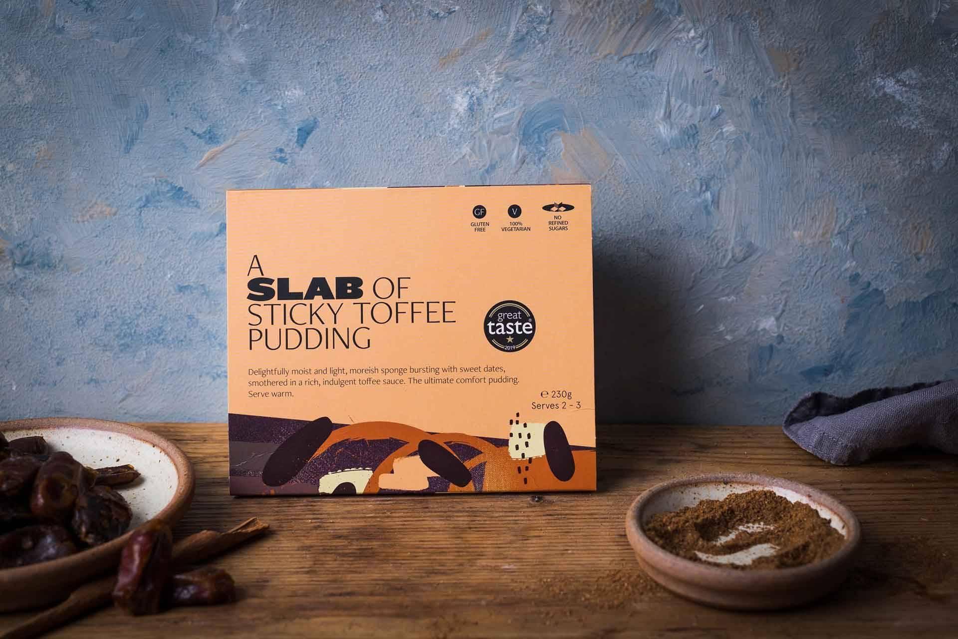 Slab Sticky Toffee Pudding