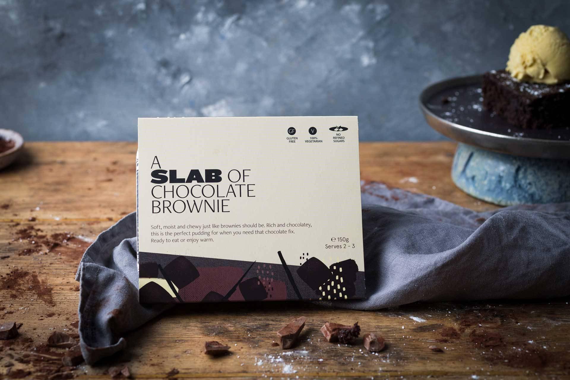 Slab Chocolate Brownie
