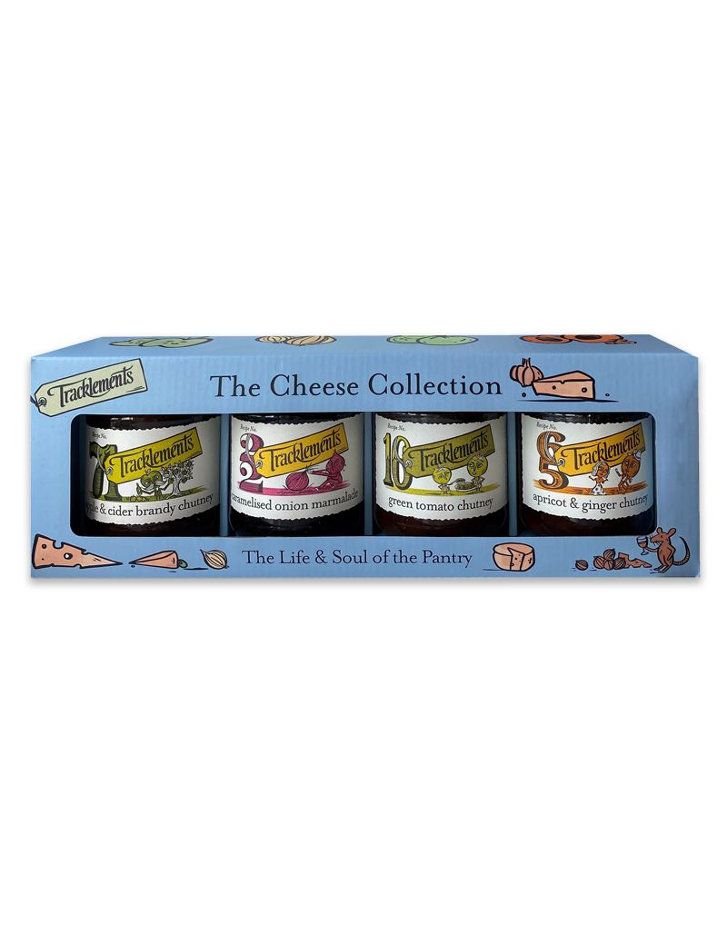 Tracklements Cheese Collection Gift Pack