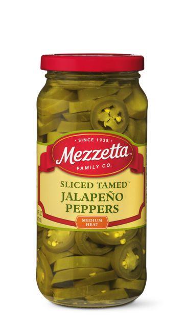 Mezzetta Sliced Tamed Jalapeno Peppers