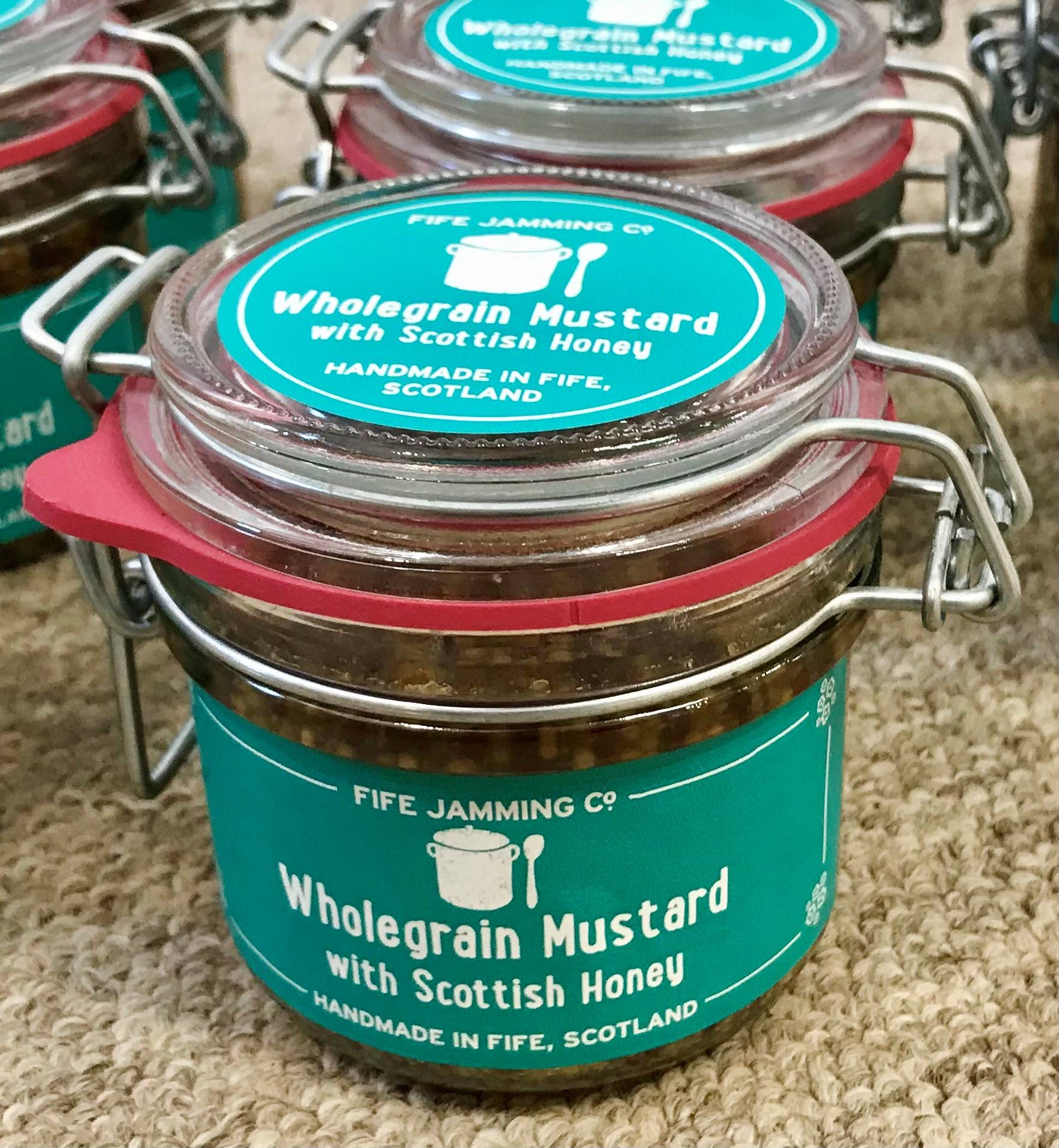 Fife Jamming Co Wholegrain Honey Mustard