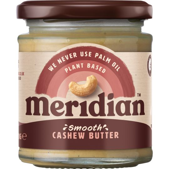 Meridian Smooth Cashew Butter Spreads