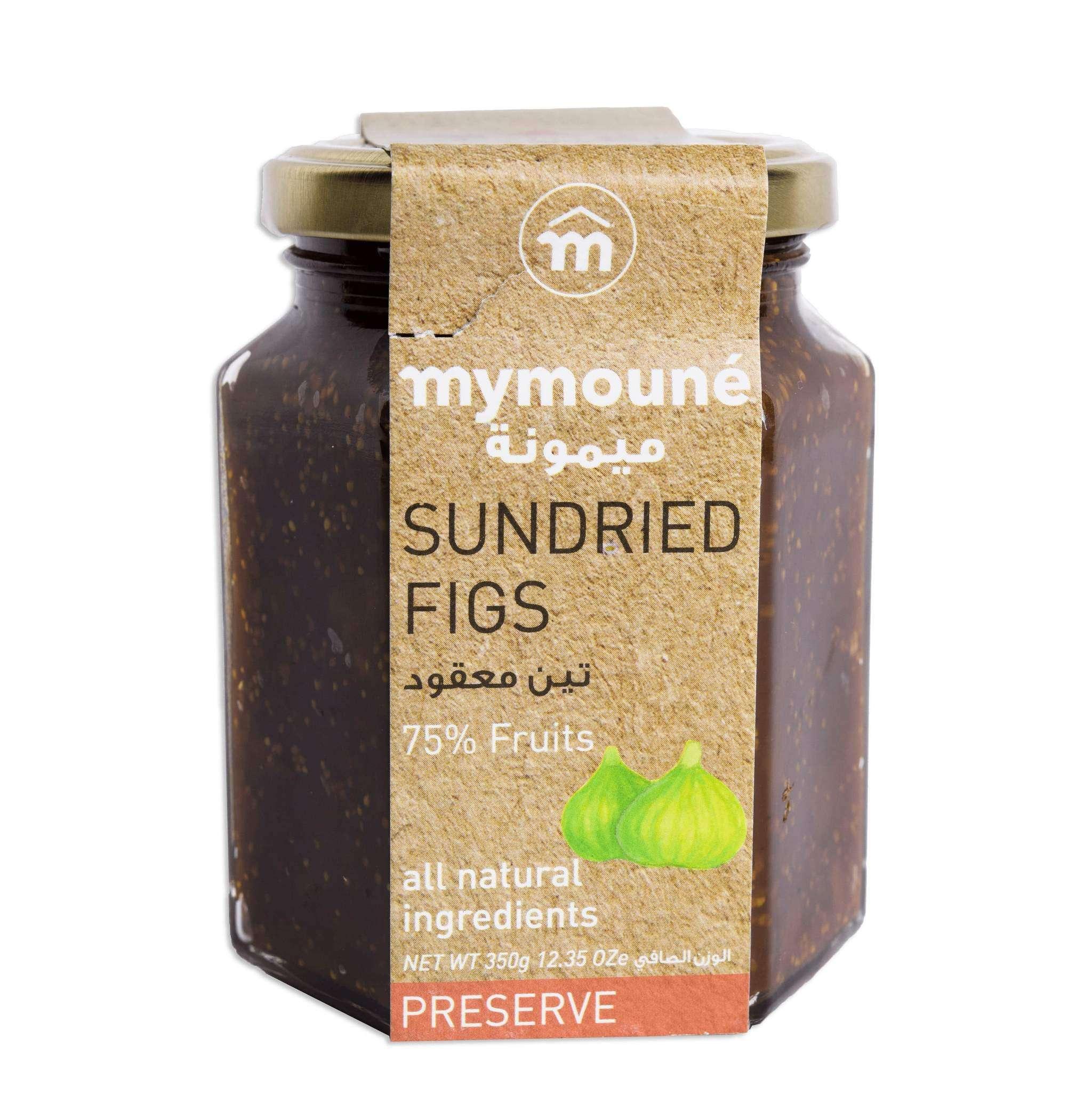 Mymoune Sundried Fig Preserve Extra Jam