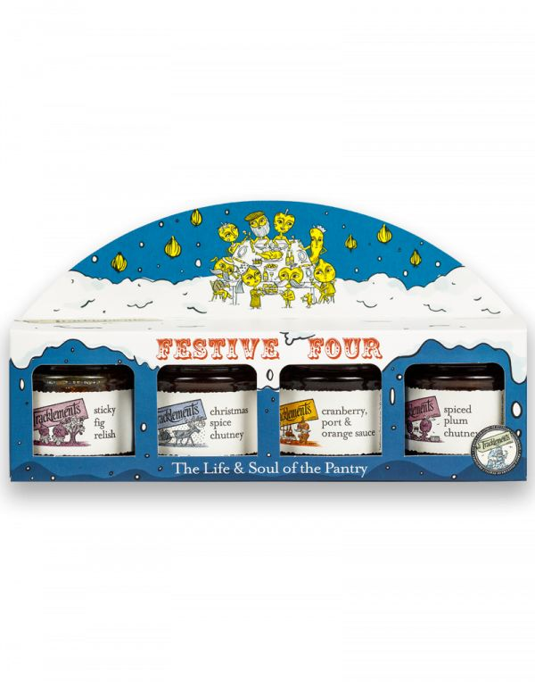 Tracklements Festive Four Gift Pack