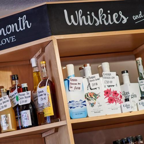 Independent Off Licence V Supermarket Booze Aisle